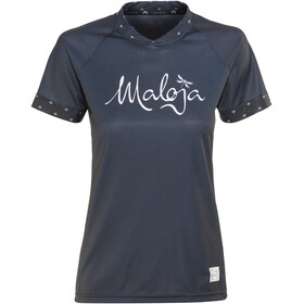 Maloja SuvrettaM. Multi Bike Jersey Shortsleeve Women black